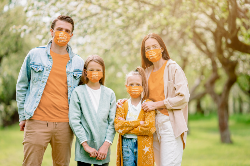 t-shirt-mockup-of-a-family-of-four-wearing-face-masks-39911-r-el2